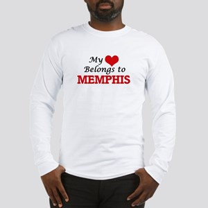 My heart belongs to Memphis Long Sleeve T-Shirt