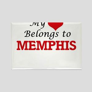 My heart belongs to Memphis Magnets
