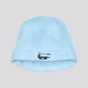 Aircraft carrier Kitty Hawk baby hat