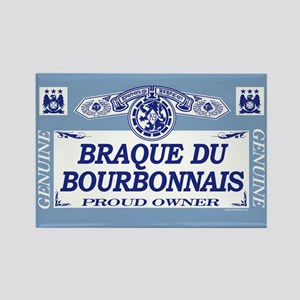BRAQUE DU BOURBONNAIS Rectangle Magnet