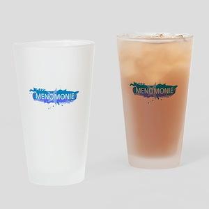 Menomonie Design Drinking Glass