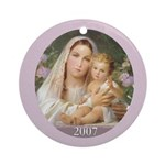 Mother & Child 2007 Ornament (Round)