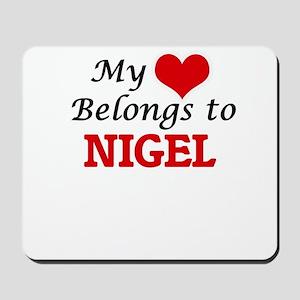 My heart belongs to Nigel Mousepad