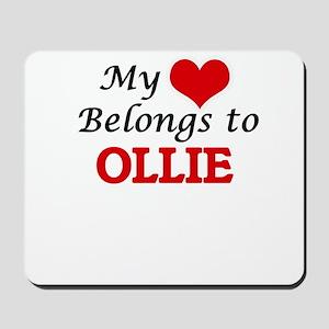 My heart belongs to Ollie Mousepad