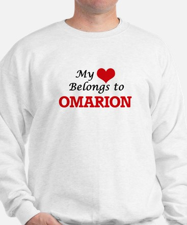 My heart belongs to Omarion Sweatshirt