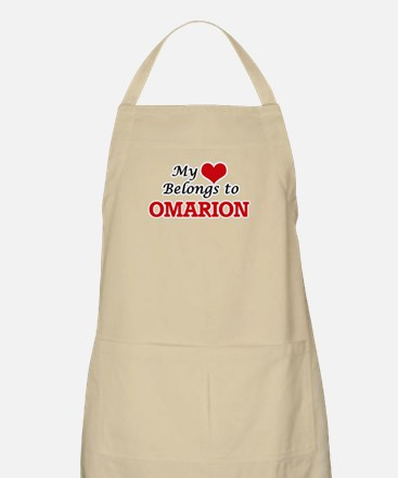 My heart belongs to Omarion Apron