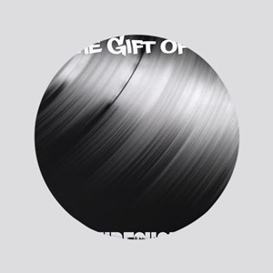 Give The Gift Of Vinyl Button