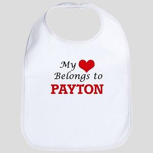 My heart belongs to Payton Bib