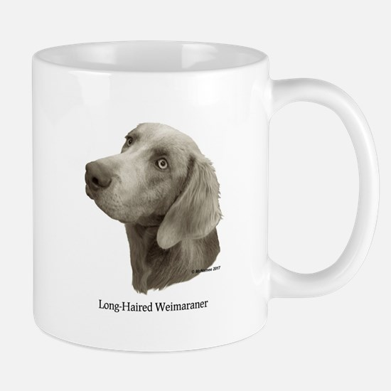 Long-Haired Weimaraner Mug