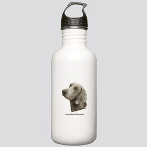 Long-Haired Weimaraner Stainless Water Bottle 1.0L