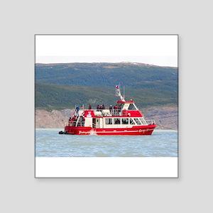 Boat on Lago Grey, Patagonia, Chile Sticker