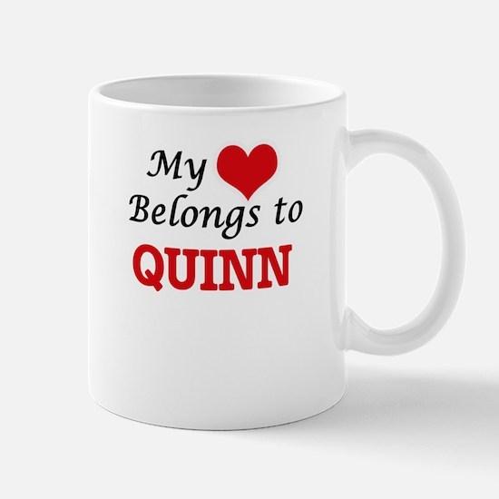 My heart belongs to Quinn Mugs
