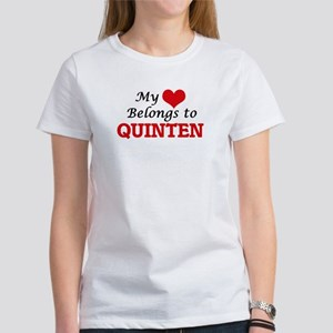 My heart belongs to Quinten T-Shirt
