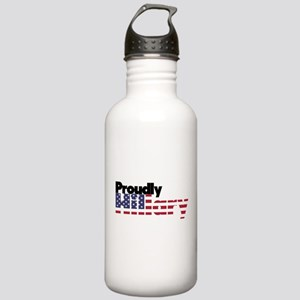 Proudly Hillary Logo Stainless Water Bottle 1.0L