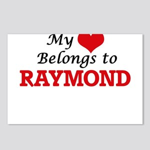 My heart belongs to Raymo Postcards (Package of 8)