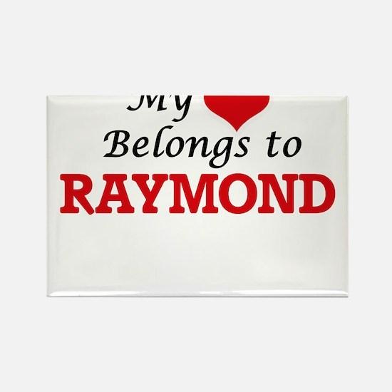 My heart belongs to Raymond Magnets