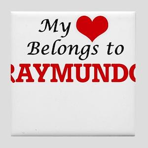 My heart belongs to Raymundo Tile Coaster