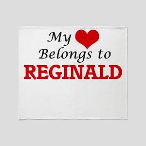 My heart belongs to Reginald Throw Blanket