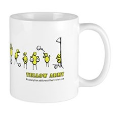 Canaries Yellow Army Mugs