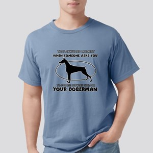 Doberman Dog Design T-Shirt