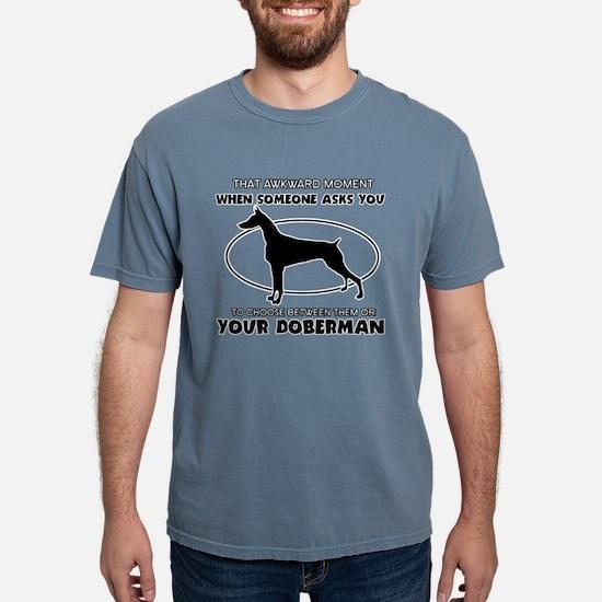 Doberman Dog Design T-Shirt
