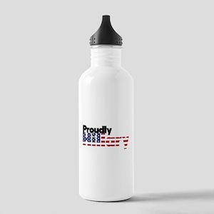 Proudly Hillary Logo Water Bottle