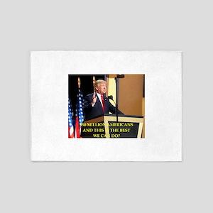 Donald Trump joke 5'x7'Area Rug