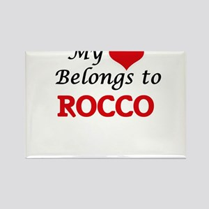 My heart belongs to Rocco Magnets