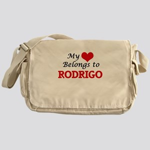 My heart belongs to Rodrigo Messenger Bag