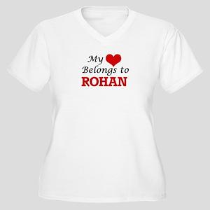 My heart belongs to Rohan Plus Size T-Shirt