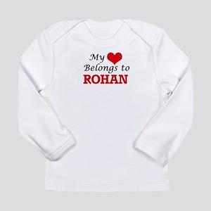 My heart belongs to Rohan Long Sleeve T-Shirt