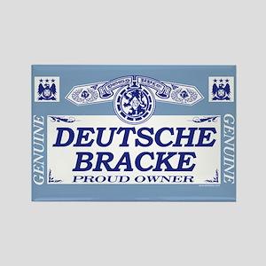 DEUTSCHE BRACKE Rectangle Magnet
