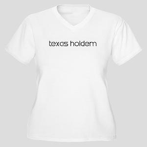 Texas Holdem (modern) Women's Plus Size V-Neck T-S