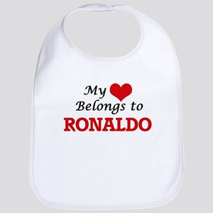 My heart belongs to Ronaldo Bib