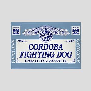 CORDOBA FIGHTING DOG Rectangle Magnet