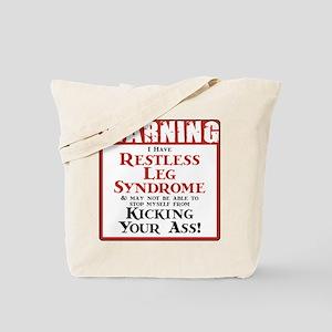 Restless Leg Syndrome Tote Bag
