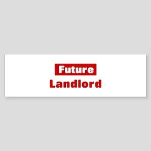 Future Landlord Bumper Sticker