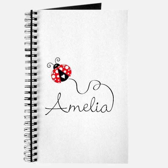 Ladybug Amelia Journal