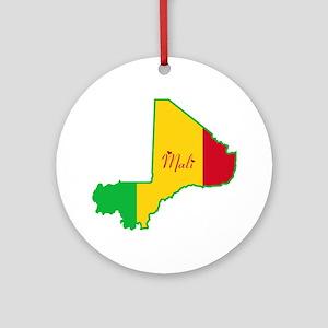 Cool Mali Ornament (Round)