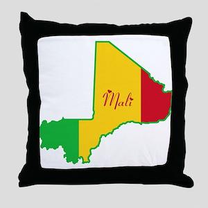 Cool Mali Throw Pillow