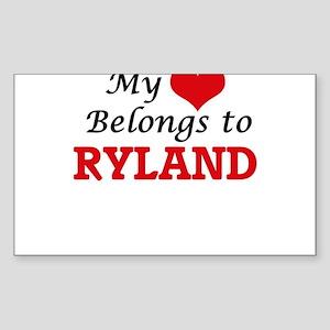 My heart belongs to Ryland Sticker