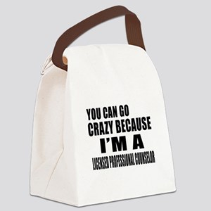 I Am Licensed Profesional Counsle Canvas Lunch Bag