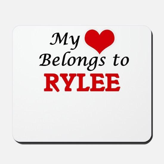 My heart belongs to Rylee Mousepad