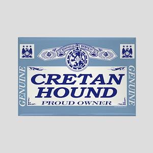 CRETAN HOUND Rectangle Magnet