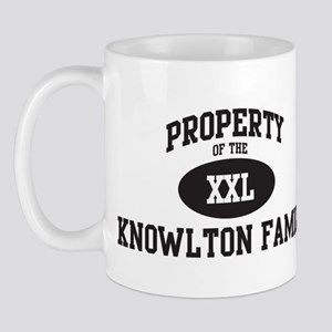 Property of Knowlton Family Mug