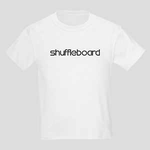 Shuffleboard (modern) Kids Light T-Shirt