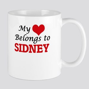 My heart belongs to Sidney Mugs