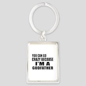 I Am Godfather Portrait Keychain