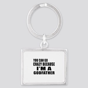 I Am Godfather Landscape Keychain