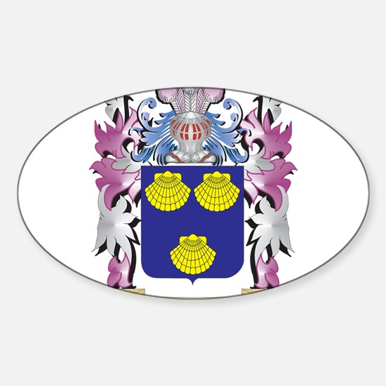 Mallett Coat of Arms - Family Crest Decal